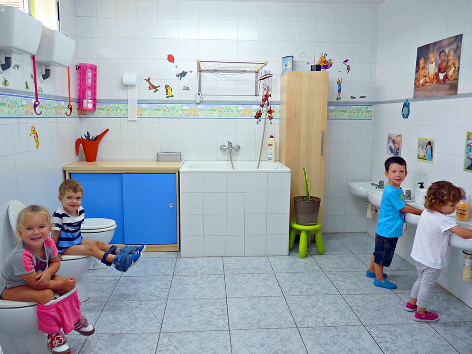 Escuela Chupetín - Baño