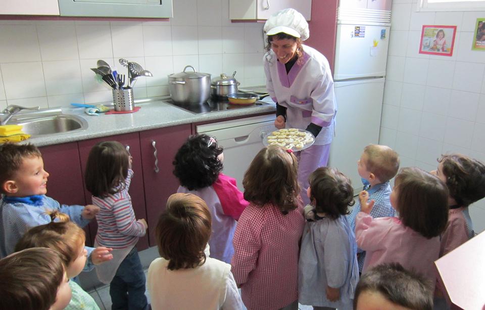 Escuela Chupetín - Cocina